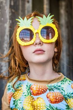 Pineapple party ~ Ginger Ray: http://kididresses.com/ginger-ray-dresses-designs-collection/#prettyPhoto