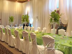 Custom Draping Linens | Wedding Decorations Toronto Muskoka