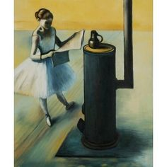 Degas - Danswuse Oil Painting  OverArts.com