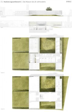 Aires Mateus . The Art Museum of the Century . Design Competitions, Architecture, Art Museum, Landscape Design, Berlin, Floor Plans, 1, Architectural Drawings, Layouts