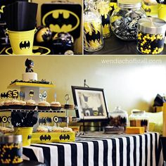 This has Katie Corrigan written all over it. Batman party, 24th birthday?
