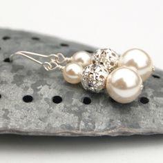 Bridal Jewelry via Etsy   www.riley-jane.com
