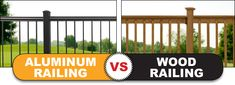 If you're looking for a Aluminum Railing product that's fast to install, easy for customers to maintain and will drive up your profits, here are three reasons to choose aluminum over wood. Deck Railing Systems, Wood Railing, Deck Railings, Building Code, Grey Stain, Make More Money, Free Time, Easy, Blog