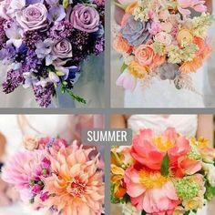 Dica para as noivinhas que vão casar na primavera #spring ou no verão #summer dica de bouquet 😱😍❤ Qual faz seu estilo?? Deixe um comentário.  #noivas #casamentos #dicadodia #photooftheday #instalove #wedding #moda #fashion #casamentos #primavera #verão #festas