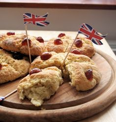 Jubilee Victoria Scones recipe by Karen Booth.