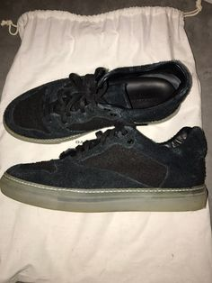 Balenciaga Black Distressed Low Top Sneaker Size 9 $200 - Grailed