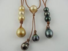Golden South sea and Tahitian Pearls #wendypearls