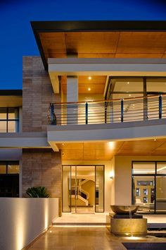 Contemporary Luxury Mansion Exterior