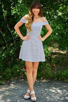 Gotta Have You Dress: Black/White #shophopes