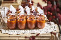 Gazpacho de pimientos del Piquillo y taquitos de mojama