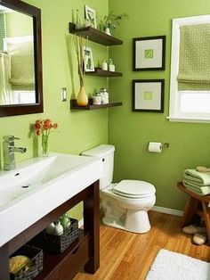 Casa - Decoração - Reciclados: Usando os Espaços Verticais do BanheiroTodas!