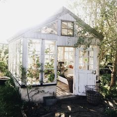 Shed Plans the peony and the bee - Lovely Life Now You Can Build ANY Shed In A Weekend Even If You've Zero Woodworking Experience! Garden Cottage, Home And Garden, Garden Living, Garden Leave, Garden Art, Patio Bohemio, Outdoor Spaces, Outdoor Living, Outdoor Sheds