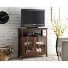 dCOR design Big Sur Highboy TV Stand