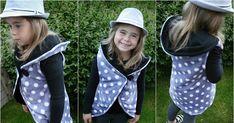 Kolová vesta je teď v internetovém světě šití docela populární, takže není divu, že jsem jí také musela vyzkoušet.   .   Návody na ní jso... Rain Jacket, Windbreaker, Vest, Knitting, Sewing, Lady, Jackets, Style, Fashion