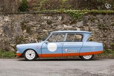 Gulf Citroen Ami 6 - ultimate race car!