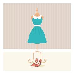Vestido para la fiesta de la vida. // Dress for the party of life