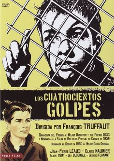 Los Cuatrocientos Golpes [DVD] de François Truffau. Signatura DVD 255