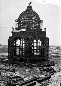 Construccion Monumento a la Revolución