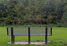 bank om te plaatsen in de openbare ruimtes