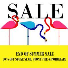 END OF SUMMER SALE 50% OFF STONE, TILE, PORCELAIN www.g-lux.com.au