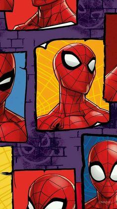Amazing Spiderman, Spiderman Art, Spiderman Stencil, Spiderman Images, Man Wallpaper, Avengers Wallpaper, Cartoon Wallpaper, Marvel Comics Superheroes, Marvel Art