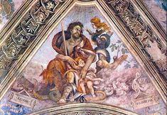 Adam clutches a child in the presence of the child-snatcher Lilith
