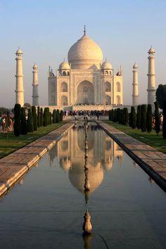 The Taj,Agra,India: man made wonder of the world