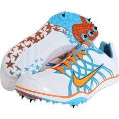I think I'm getting these Hope-colored spikes for track.