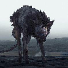 Hunt: Showdown - Hellhound Concepts, Ivo Nies on ArtStation at https://www.artstation.com/artwork/Zkzom