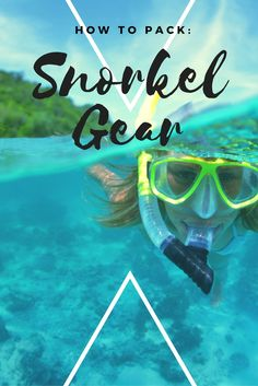 If you plan to snorkel more than a couple times when you travel, it's worth the luggage space to bring your own gear. What To Pack, Future Travel, Packing Tips, Travel Luggage, Snorkeling, South America, Gears, Traveling By Yourself, Thailand