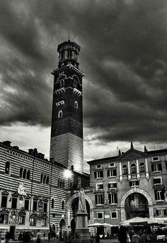 Fotografando Verona Nuvoloni che avanzano