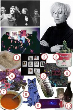 Andy Warhol Factory Party · DIY The Party · Cut Out + Keep Craft Blog