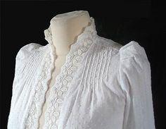 Vintage Laura ashley white cotton edwardian shirt top 10 CARNO WALES Ashley White, Laura Ashley, White Cotton, Wales, Stuff To Buy, Shirts, Vintage, Tops, Welsh Country