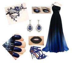 """Masquerade with Eyeless Jack"" by mikeycliffordskitten ❤ liked on Polyvore featuring Masquerade, Ted Baker, women's clothing, women's fashion, women, female, woman, misses and juniors"