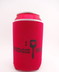 Image of I *heart* Pudgie Pies Can Coozie