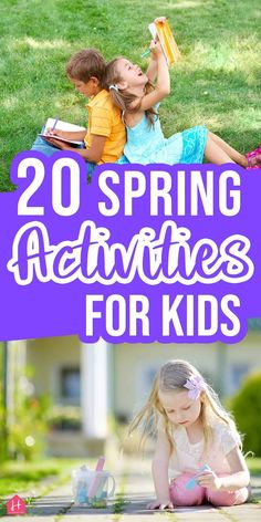 Have fun with your kids with these spring activities for homeschool. They're simple, educational, and perfect for celebrating the spring season. Educational Activities For Preschoolers, Sensory Activities Toddlers, Spring Activities, Kindergarten Activities, Preschool Activities, Social Challenges, Bucket, Free, Holiday Fun
