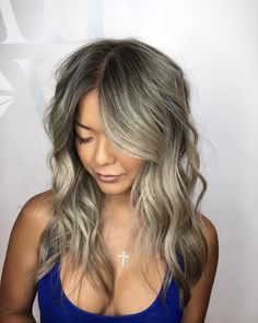 Baby-lights with a root lift to create a ashier and softer blonde on naturally dark hair.   #blonde #blondehair #blonder #ashblonde #silverhair #platinumblonde #highlights #balayage #balayageombre #balayagehighlights #ombre #ombrehair #newhair #fashion #style #styleblogger #fashionblogger #womensfashion #womensstyle #hair #hairstyles #hairstyle #toronto #torontosalon #torontohairstylist #torontohair Blonde Highlights On Dark Hair, Balayage Highlights, Ash Blonde, Platinum Blonde, Blonde Hair, Silver Hair, Ombre Hair, New Hair, Toronto