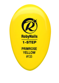 RobyNails 1-Step Gel Polish Primrose Yellow: yellow full of vitality, to be wear with verve