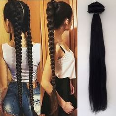 14 Showy Braided Hairstyles for Long Hair Ideas - My list of women's hair styles Face Shape Hairstyles, Bun Hairstyles For Long Hair, Braided Hairstyles, Curly Hair Styles, Natural Hair Styles, Blond Ombre, Pinterest Hair, Very Long Hair, Braid Hairstyles