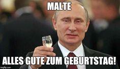 Putin wishes happy birthday Meme Generator - Imgflip