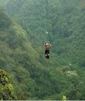 Emily will be going ziplining on Thursday June 28th and Chiang Mai.  She will really enjoy this.