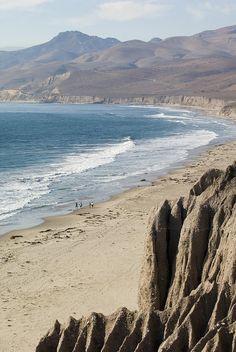 ✮ Jalama Beach on the Gaviota Coast, CA I can't believe I've never heard of this beach