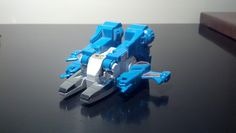 Transformers: Topspin. Vehicle mode.