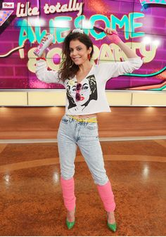 Bethenny Frankel wearing and looking fabulous in my ART/FASHION collaboration with the amazing Patricia Field!!!