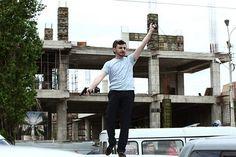 Disparos ante una corte en Erevan