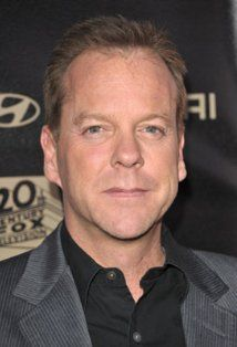 "Kiefer Sutherland , Dec 21 1966, he was born in London His full name is Kiefer William Frederick Dempsey George Rufus Sutherland ( I guess they couldn't make up their minds)  He is the grandson of Sask Premier Tommy Douglas.  His ""gravelly"" voice lands him a lot of commercials. He is known for TV shows such as 24 and Touch, films include The Lost Boys, Phone Booth and Dark City.  He has 83 titles to his credit"