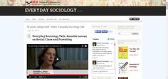 "Blog for sociology students that contains resources for many of the topics in the Preliminary & HSC courses. Via ""Everyday Sociology Blog: Video: Everyday Sociology Talk"""