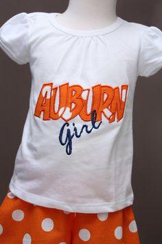 Auburn girl!!  Maddy needs this for football season!