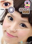 Geo Color 9 - $7.40 per lens - Available in Prescription Purple Contacts, Colored Contacts, Coloured Contact Lenses, Circle Lenses, Color Lenses, Geo, Beauty, Silver, Tinted Contact Lenses