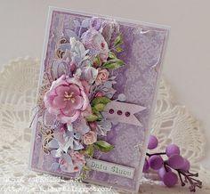 Coucou, Voici enfin les cartes pour vous inspirer ou lifter, à votre choix. Une carte trouvé sur le blog : http://peniniaart.blogspot.fr/ Et une carte Magnolia